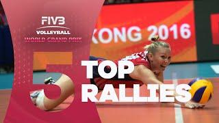 FIVB - World Grand Prix: Top 5 Rallies