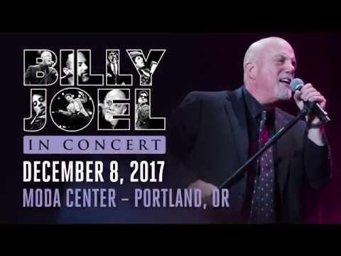 Billy Joel To Play Moda Center Portland December 8, 2017