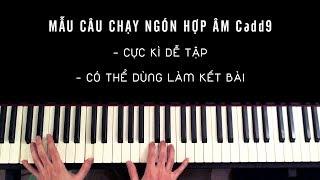 PIANO ĐỆM HÁT| MẪU CÂU CHẠY NGÓN RẤT HAY VÀ DỄ TẬP, CÓ THỂ DÙNG LÀM KẾT BÀI