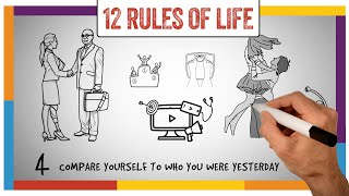 12 Rules For Life (Jordan Peterson) - Animated Video Summary, Review and Implementation Guide