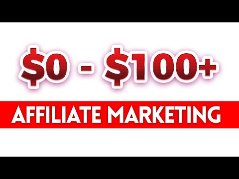 From $0 $100 and Above with Affiliate Marketing thumbnail