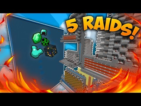 RAIDING TOP FACTION (DDOSSED) | Minecraft Factions District #29