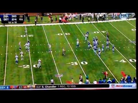Matthew Stafford unbelievable game winning touchdown drive vs Dallas Cowboys