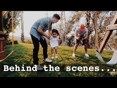 Behind The Scenes- THE ACE FAMILY'S NEW INTRO VIDEO! 2K18