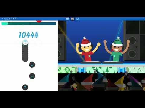 Google Christmas Game (Wrap Battle - Google Santa Tracker)
