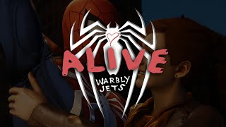 Alive Warbly Jets Spider Man Fan Made MV Valentines Edition HQ