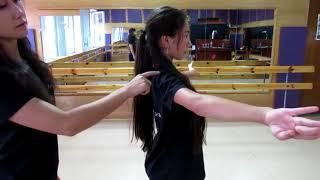 """Обучение крымскотатарским танцам - Урок 1 """"Основное положение рук у девушек"""""""