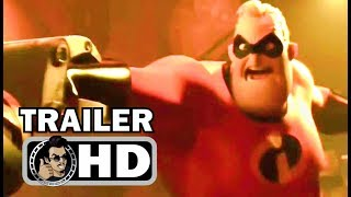 INCREDIBLES 2 Official Trailer Teaser #2 (2018) Pixar Animated Superhero Movie HD