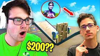 I Hosted a 1v1 Tournament with FaZe Sway for $200 in Fortnite... (beat FaZe Sway = Money)