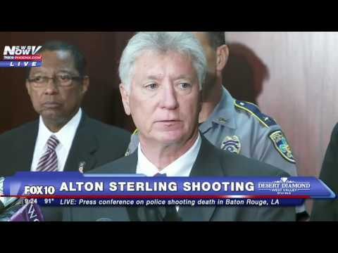 FULL PRESS CONFERENCE: Baton Rouge Police Discuss Alton Sterling Shooting Investigation - FNN