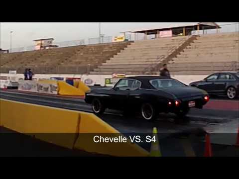 468 Chevelle at the Drag strip runs 12s!!
