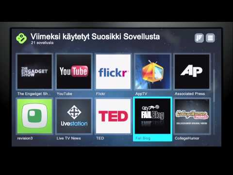 Boxee Box product introduction (Finnish)
