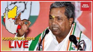 Siddaramaiah Reaffirms Confidence Of Winning Karnataka | Karnataka Polls Live