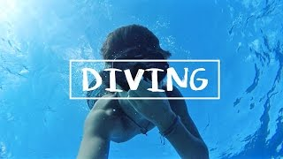 HAWAII: FREE DIVING 50ft IN THE OCEAN!!