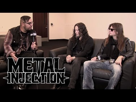 QUEENSRYCHE Talk Getting Heavier & Favorite Moments (2015 Interview) | Metal Injection