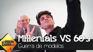 Jóvenes modelos de Instagram VS exitosos modelos de los años 60 - El Hormiguero 3.0