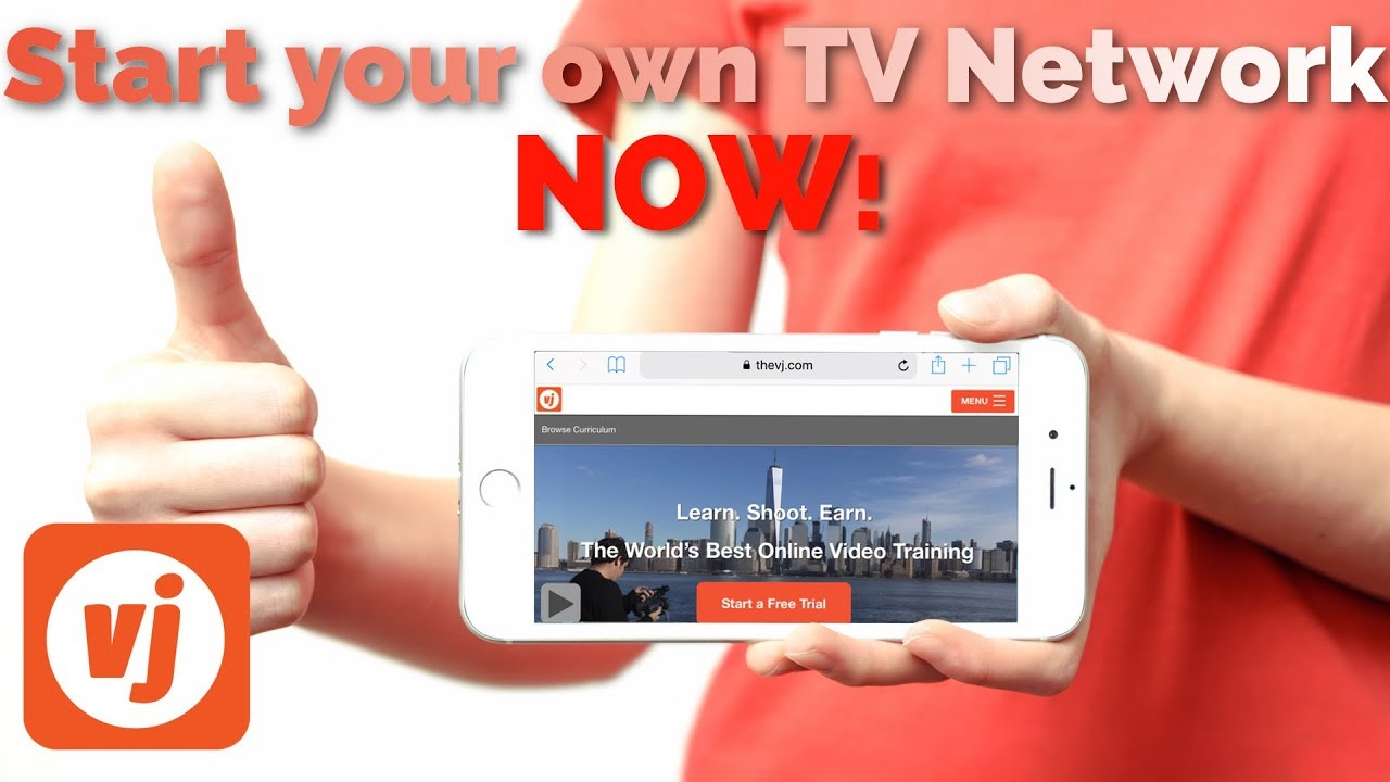 How To Start Your Own TV Channel | TheVJ com