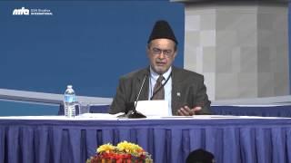 Closing Address by Dr. Ahsanullah Zafar at Jalsa Salana USA 2014
