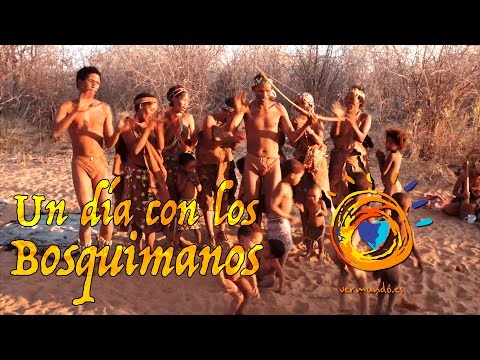 One day with the bushmen