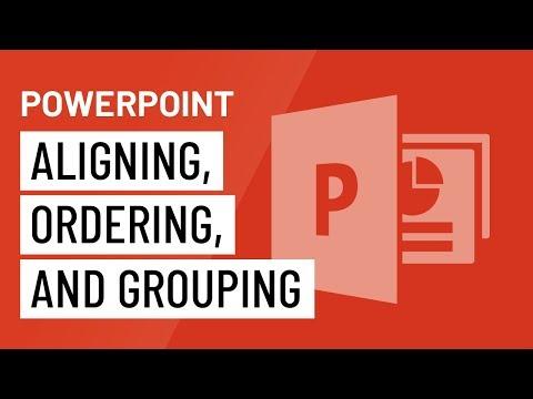 PowerPoint 2016: Căn chỉnh, sắp xếp thứ tự và nhóm đối tượng