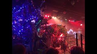 Robot Restaurant in Tokyo, Japan - Clip 2 - Evil Robots VS Forest Princess
