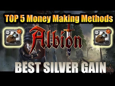 Albion Online - Top 5 Best Money Making Methods - Albion Online Fastest Money + Silver! In 2019!