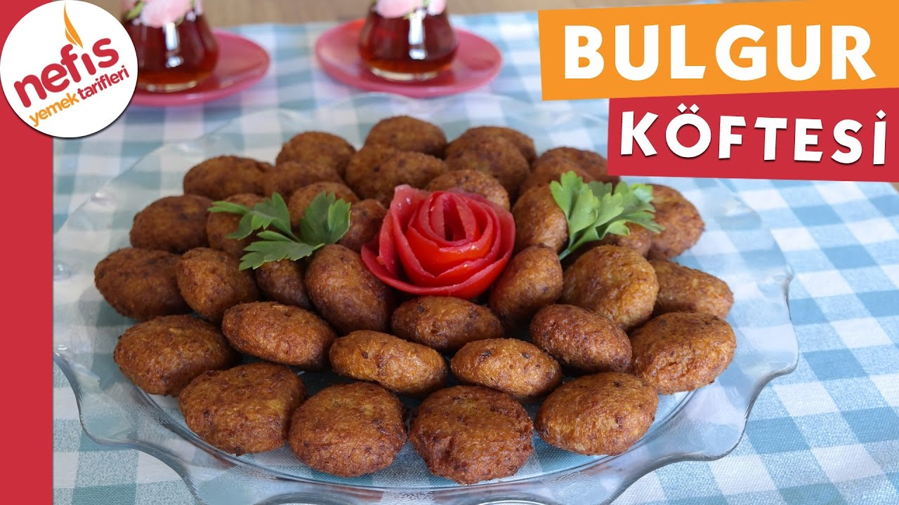 Bulgurlu Köfte Tarifi