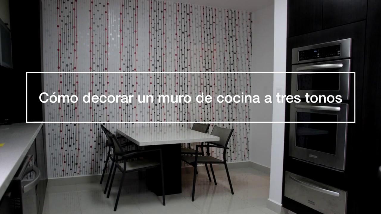 Como pintar una cocina con plantillas Living Designs