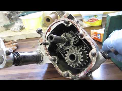 1930 Sunbeam Model 9 Gearbox Operation