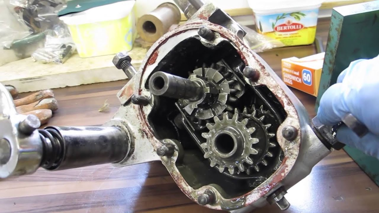 1930 sunbeam model 9 gearbox operation [ 1920 x 1080 Pixel ]