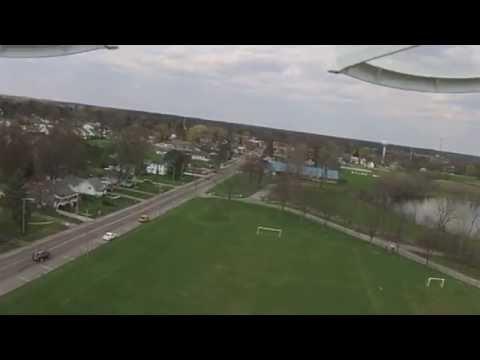 DJI Phantom Drone flying over Whitehouse