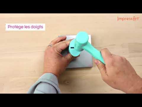 ImpressArt | Tampon Simple Strike Jig ♡ Tutoriel