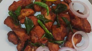 சிக்கன் 65 ரெஸ்டாரண்ட் ஸ்டைல் /Chicken 65 Recipe /Chilly Chicken Recipe  in Tamil # 24