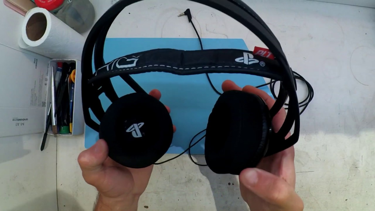 hight resolution of plantronics rig headset cable repair