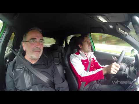 Audi S1 at the Nurburgring with Markus Winkelhock