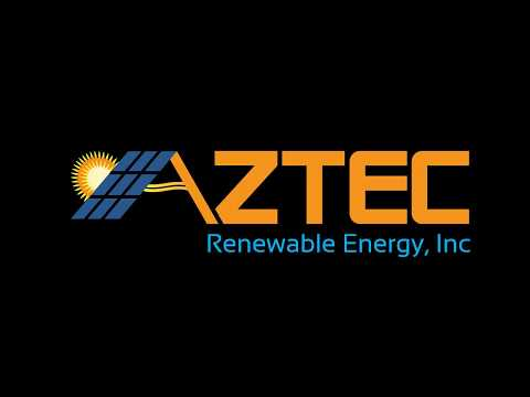 Aztec Solar Ft worth Tx Elevated Ground Mount Installation