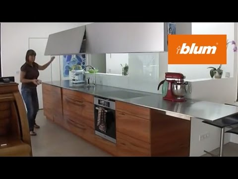 AVENTOS lift systems in the daily kitchen work - YouTube