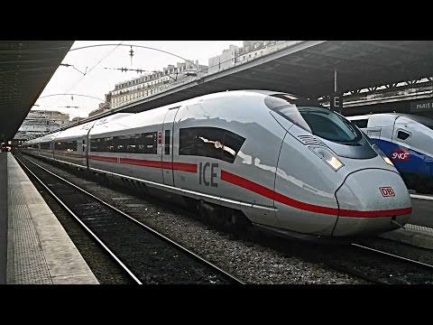Gare de l'Est  - TGV, ICE, TER, RZD, Transillien ligne P