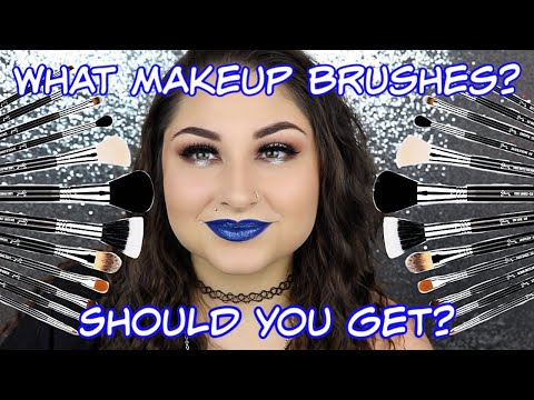 What Makeup Brushes Should I Buy ? - Recommended Makeup Brushes - 동영상