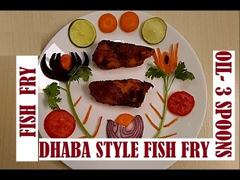 Fish Fry Recipe / How To Make Fish Fry / Dhaba Style Fish Fry / Simple And Delicious Fish Fry