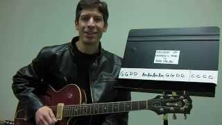 "Easy Guitar PLAY-ALONG Lesson : ""Knockin"