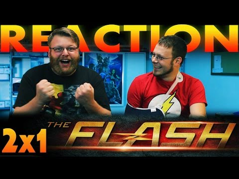 """The Flash Season 2 Premiere REACTION!! """"The Man Who Saved Central City"""""""