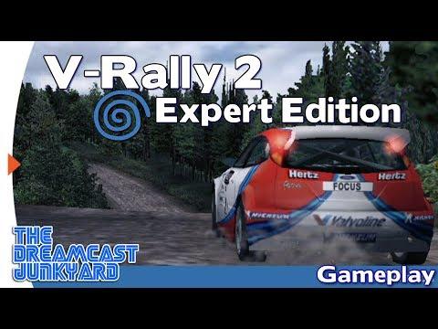 V-Rally 2 : Expert Edition - Dreamcast Gameplay - VGA HD - The Dreamcast Junkyard