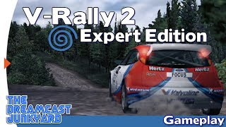 V-Rally 2 : Expert Edition - Dreamcast Gameplay - VGA HD