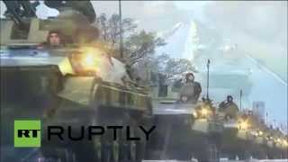 Serbian Military Parade 2014 Hell March 2 / Војна Парада Србије, Београд 16.10.2014.