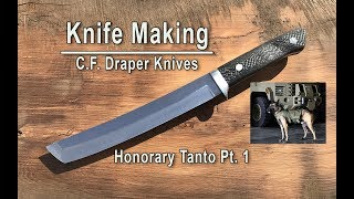 Knife Making - Making an Honorary Tanto