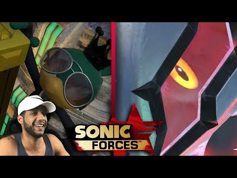 Sonic Forces SPACE PORT & INFINITE BOSS - Live Reactions w/Cobanermani456