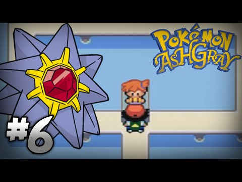Let's Play Pokemon: Ash Gray - Part 6 - Cerulean Gym Leader Misty