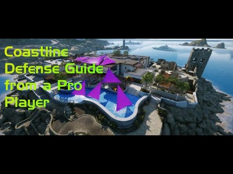 Coastline Defense Guide from a Pro Player! All 4 Sites Covered!