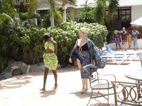 Fashion Show at Windjammer Landing, St. Lucia